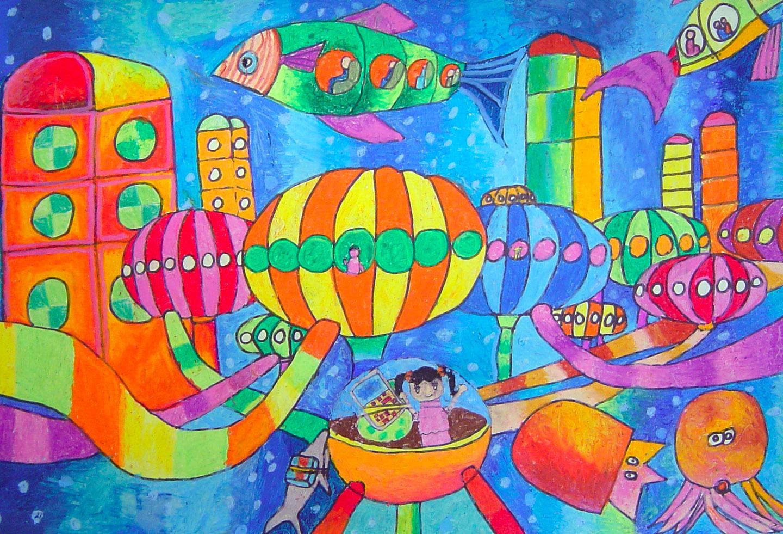 儿童画3 - 内容 - 上海市徐汇区长桥第二小学